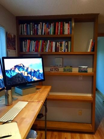 My bookshelf for How I Work