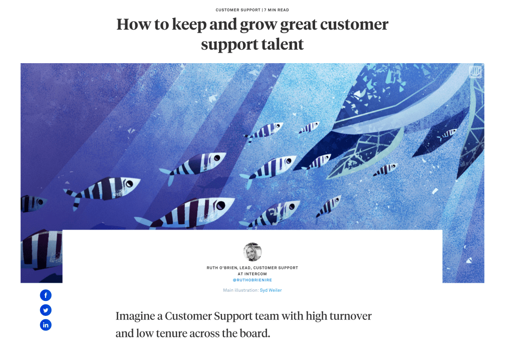 How to keep and grow great customer support talent