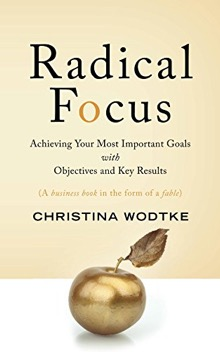 Radical Focus is all about how to use OKRs in your organization.
