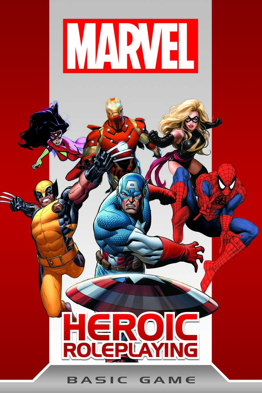 Cover to Marvel Heroic Roleplay