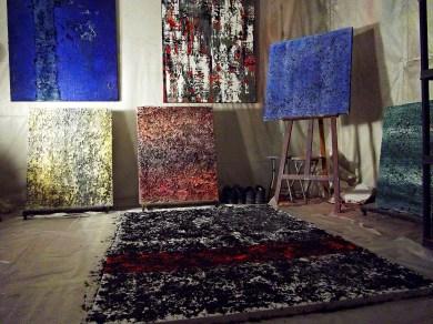 JEREMIE FRANCBLUM's studio (December 2013)