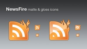 Fire RSS icon