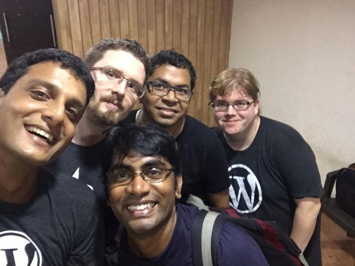 Automatticians at WC Pune