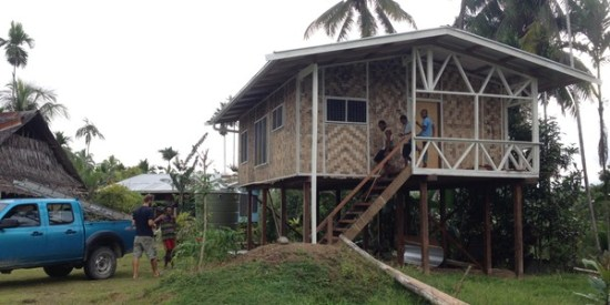 Translator House - Outside Madang