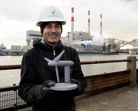 Figure 4: Scaled Down Model of the Underwater Turbines (Credit: Daily News)