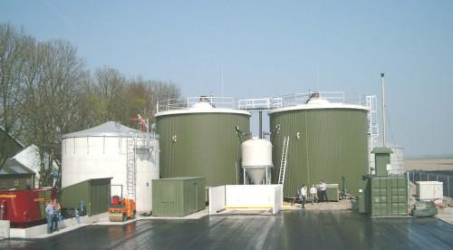 Figure 5: Biogas Plant