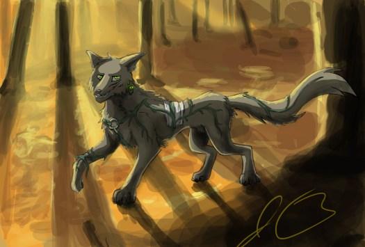 Child Wolf quick