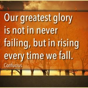 Confucius - Failing Quote