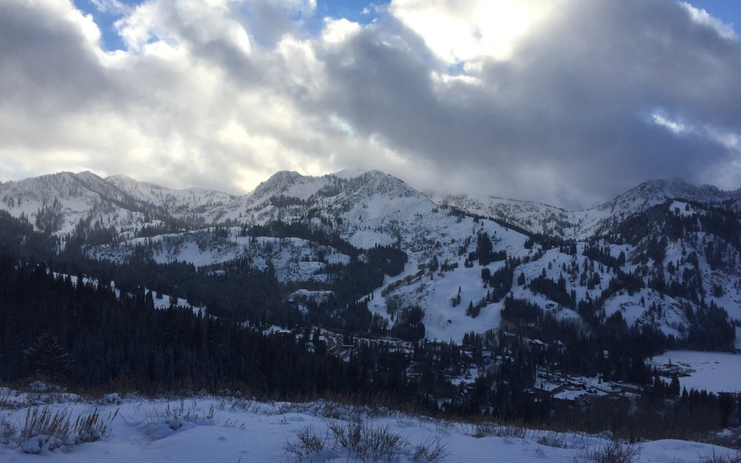 Powder off Guardsman Pass