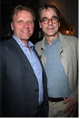 David Rasche and Jeremy Irons