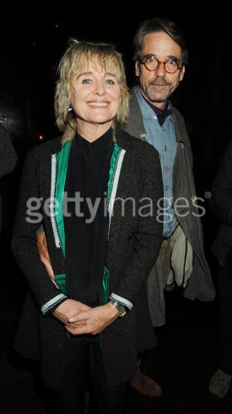 Sinead Cusack and Jeremy Irons - photo by Dave M. Bennett/Getty Images