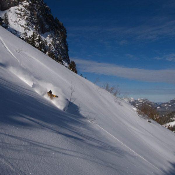 Ski hors-piste La Clusaz