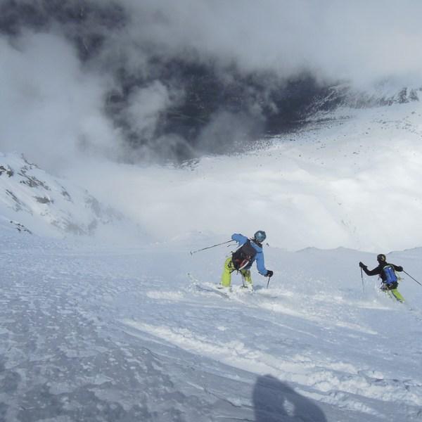 Face Nord Aiguille du Midi Guide Jeremy Janody
