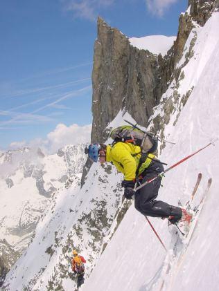 Arêtes de Rochefort à ski Jeremy Janody11