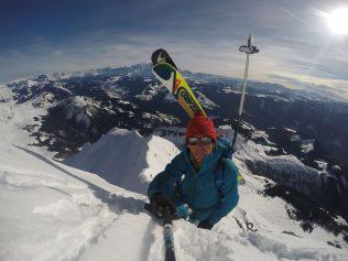Ski touring trip Aravis Ridge