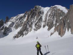 Couloir Gervasutti -Mont Blanc du Tacul