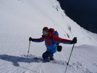 Ski de pente raide en Islande