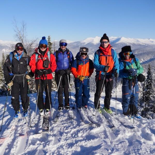 Voyage ski en sibérie