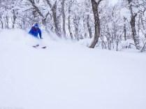 Ski de rando au Japon