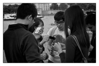 london tourist photographs