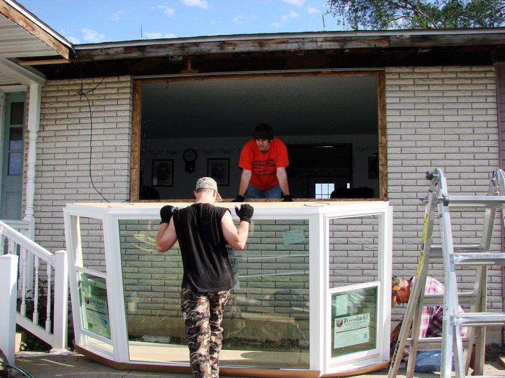 Bay Window Installation Edgerton Ohio