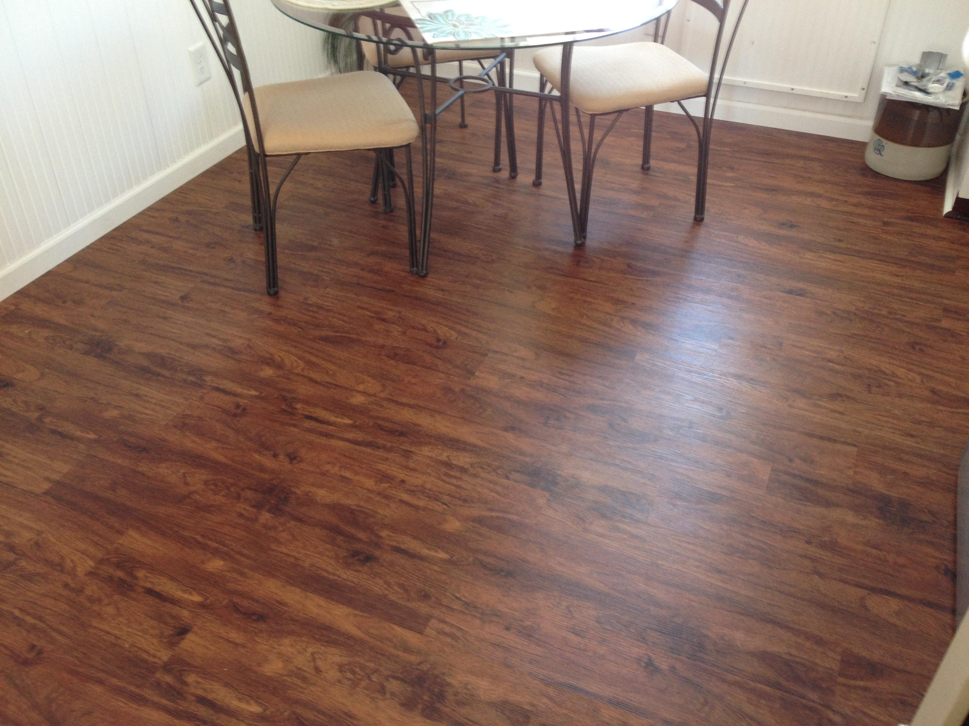 Menards designers image mocha walnut Plank flooring