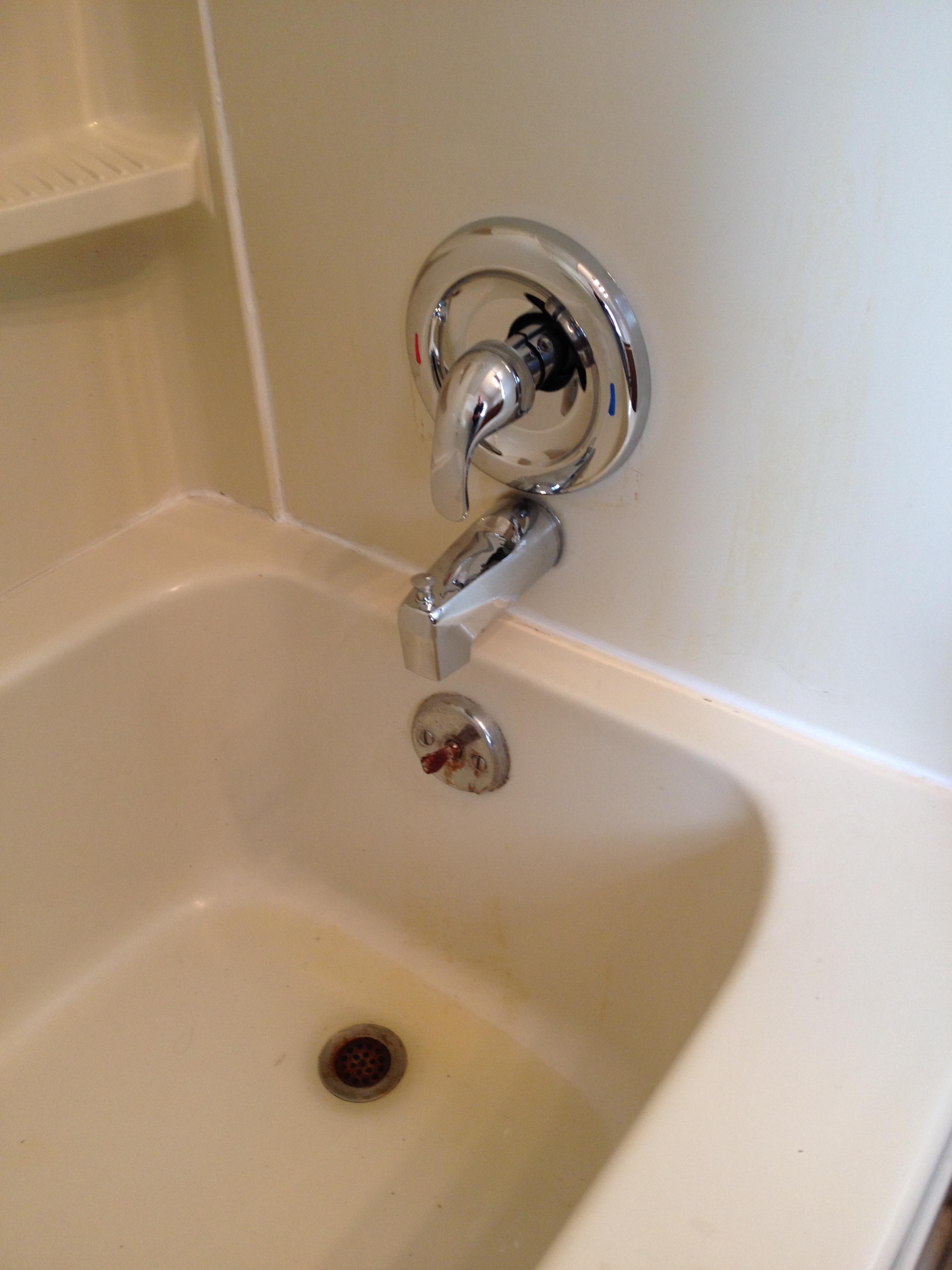 bathtub faucet spout replacement