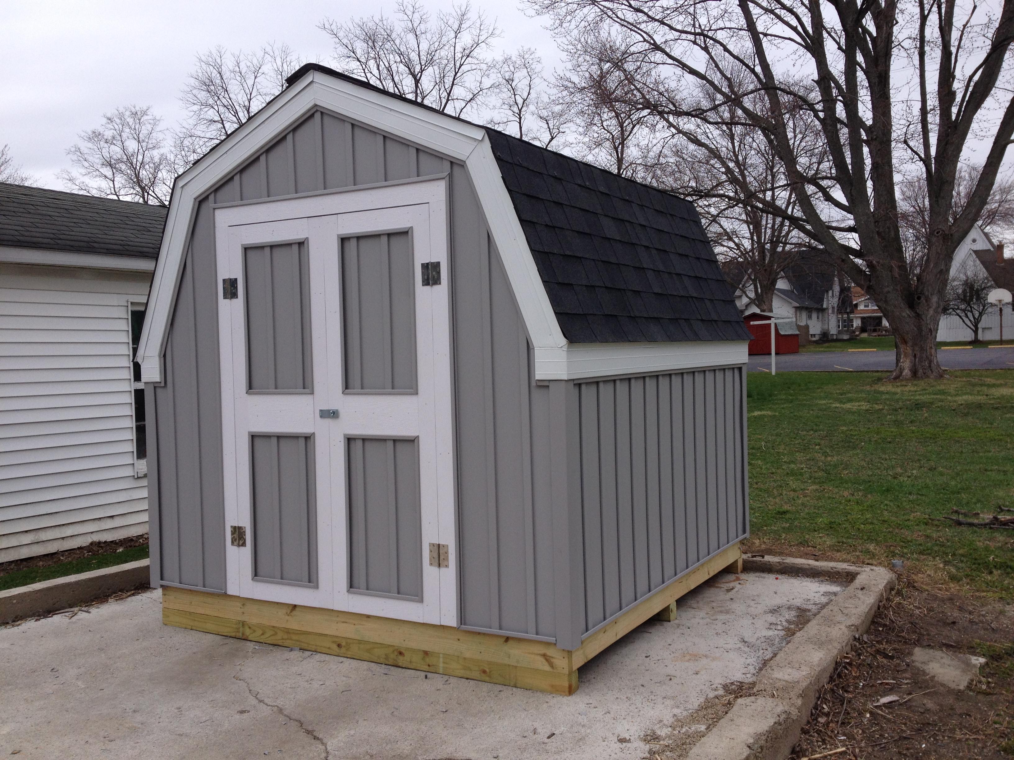 8 X 8 Storage Shed Hicksville Ohio