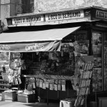 An old time News Stand