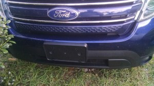 2012 Ford Explorer Front Fascia