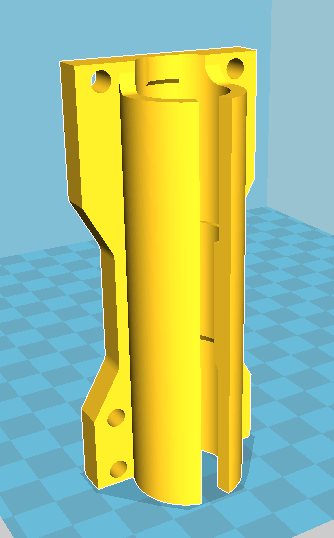 double bearing mount