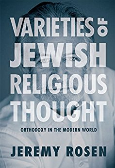 Varieties of Jewish Religious Thought