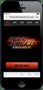 Portfolio - Need for Speed - Mobile