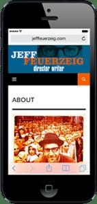 Portfolio - Jeff Feuerzeig - Mobile