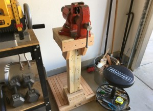 Schuler - Vise Stand - DIY Build