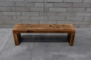 Jeremy Schuler - DIY 2x4 Slat Bench