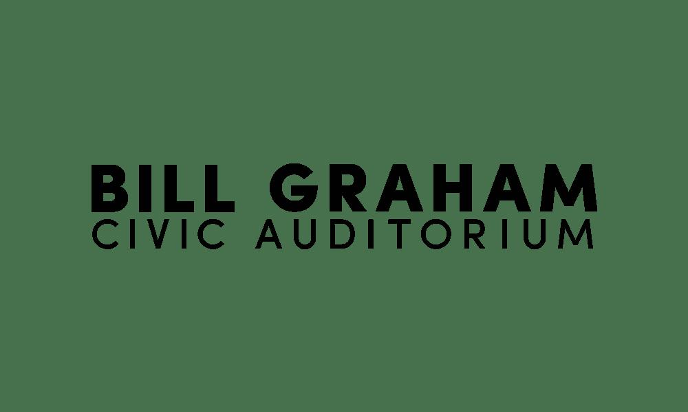 Bill Graham Civic Auditorium - Logo Stacked Black