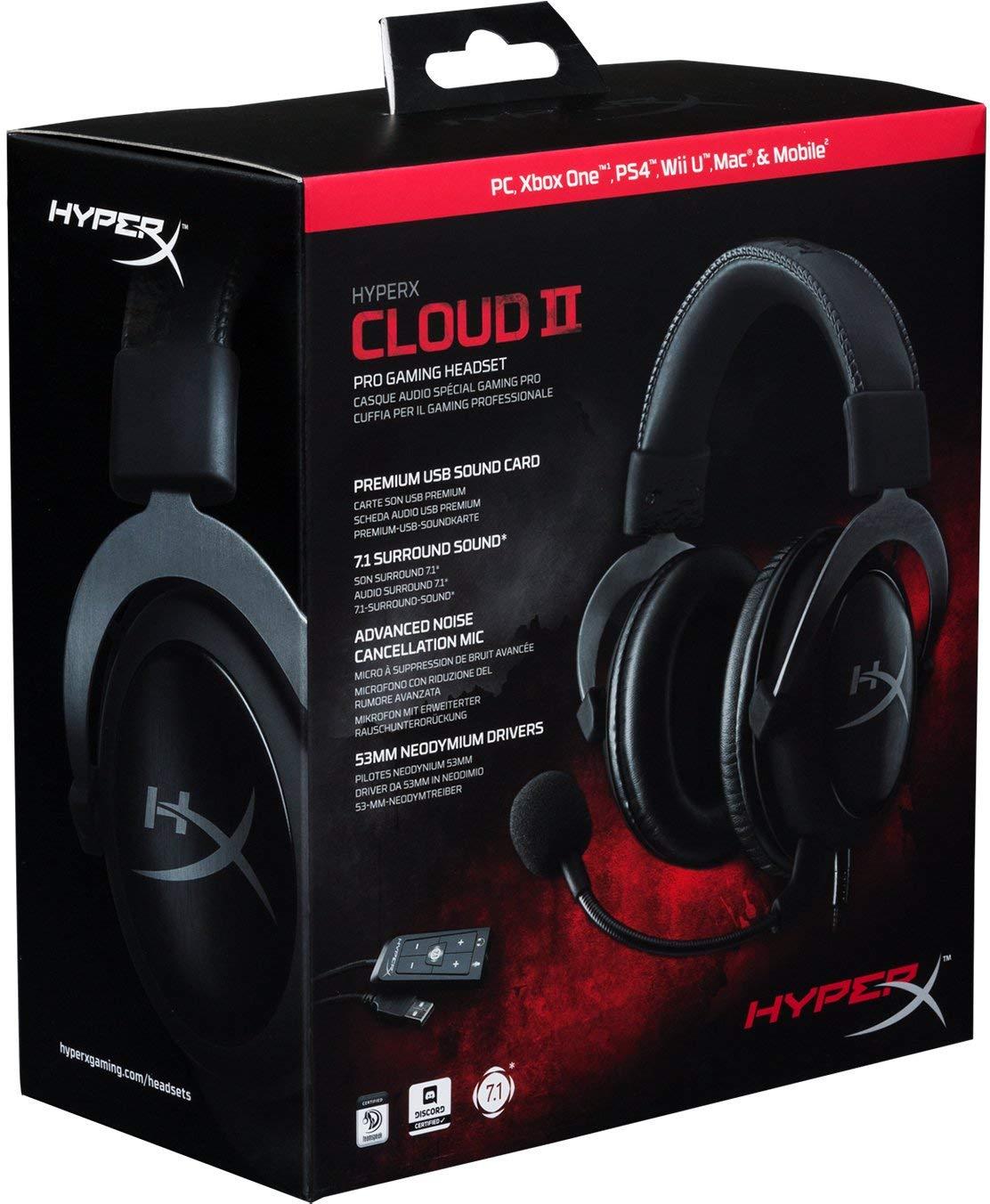 hyperx cloud ii casque gaming