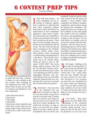 NW Fitness Magazine, by Jeremy Williams