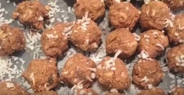 peanut butter protein balls 4