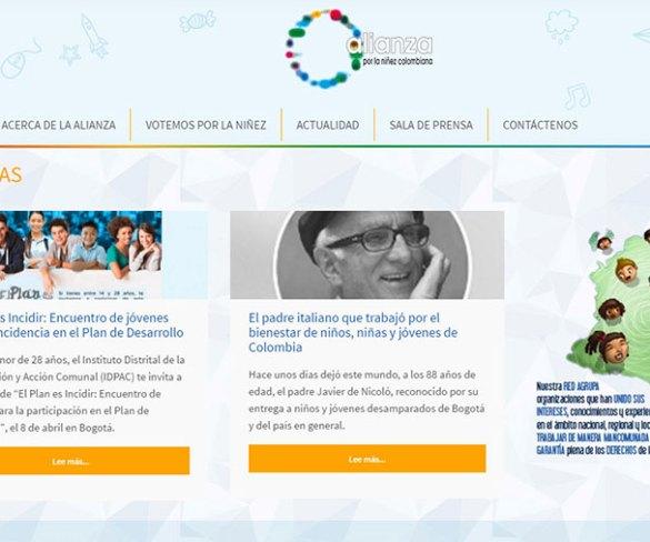 Alianza refuerza su presencia en línea para potenciar sus acciones por los derechos de la niñez colombiana