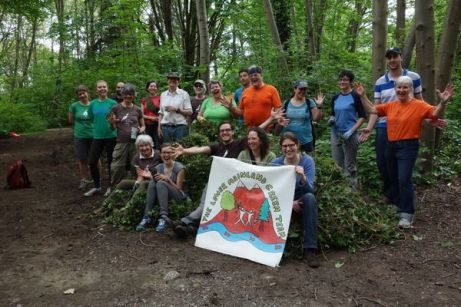 JSG was joined by enthusiastic volunteers from Lower Mainland Green Team