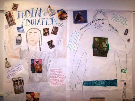 Indian Education by Sherman Alexie Life-Size Character Poster