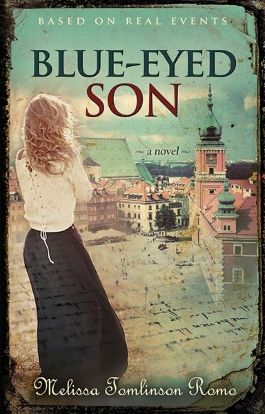 Cover image of Blue-Eyed Son by Melissa Tomlinson Romo