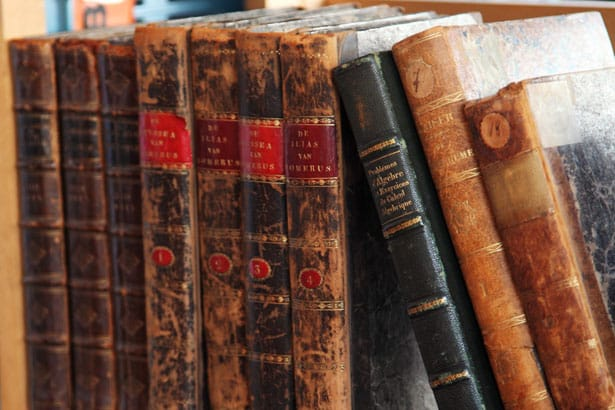 picture of old books