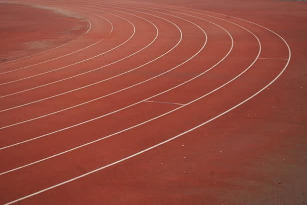 picture of running track