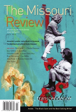 Cover image of the Missouri Review
