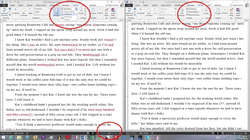 Image of Proofreading Sample