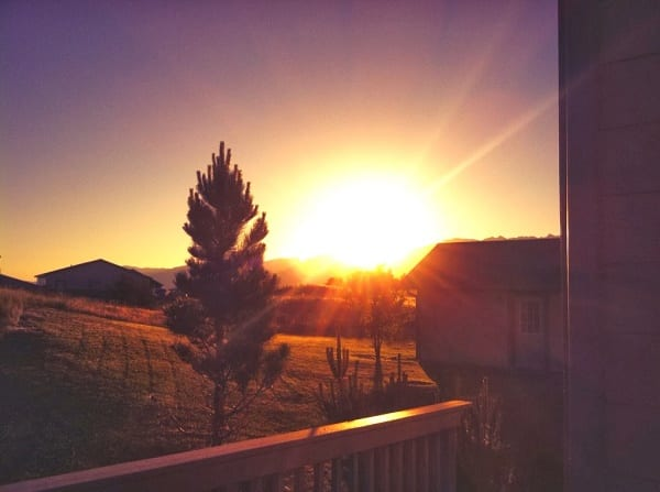 Picture of Montana Sunrise by KJ Waters