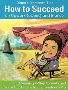 Cover image of Diana's Freelance Tips